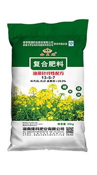 金皇冠13-5-7复合肥料(油菜肥)