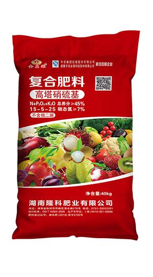 金皇冠15-5-25复合肥料(高塔硝硫基)
